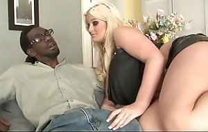 Chubby blonde stepdaughter comradeship with bbc