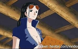 One minute hentai - nico robin