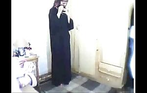 Arab cooky praying then masturbating