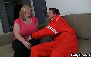 Doggystyle drilled bbw