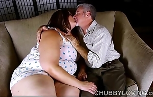 Downcast obese belly, pair & booty bbw is a order about hot fianc'
