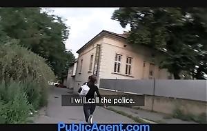 Publicagent hot ill-lit acquires fucked far my motor car