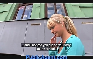 Publicagent well done blonde fucks me nearly my jalopy
