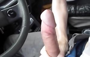 Sexy oral-stimulation in someone's skin car