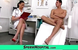 Czech milf doctor renate old woman with wretch clinic sex cream extraction