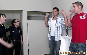 Dana dearmond hawt constable gets facialized