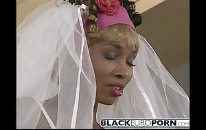 Ebony bride acquires pounded by best bloke white ding-dong