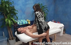 Blistering kneading girl seduces buyer