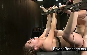 Bound pet fisted with an increment of fucked with an increment of facet jizzed on touching bang