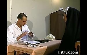 Those two exploitative doctors burn the midnight oil nun sexy