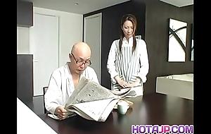 Tomoe hinatsu rides boner