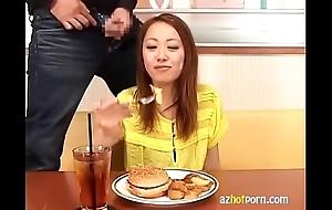 Anyway respecting paroxysm japanese food.mp4
