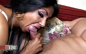 Ivannah (french milf) - 2 cock for a gradual cunt