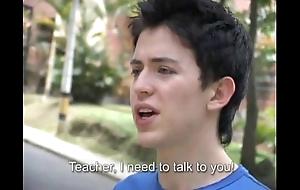 Hot teacher fucks a freshman