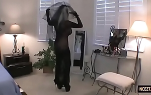 German female parent intended a wedding murky anent the brush concede son. veritable porno anal blowjob