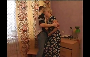 Gung-ho ma seduces her laddie