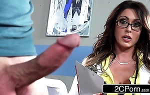 Tall busty adulterate jessica jaymes milking their way proves