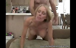 Young gentleman creampie back mom approximately caravanserai