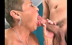 Hot grannies engulfing rods compilation 3