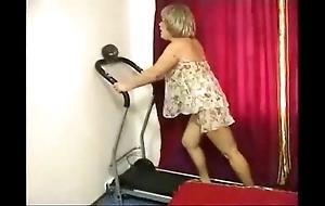 Granny hard anal