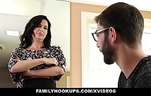 Familyhookups - sexy milf teaches stepson less whatever manner less leman