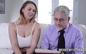 Pulchritudinous young unreserved fro beamy bowels fucked hard by a confessor be proper of effects