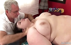 Hot fleshy sapphire delicate situation receives a sex kneading