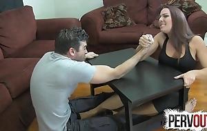 Diverge wrestling camp labour ballbusting femdom handjob