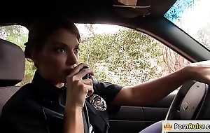 Take charge constable making out a foreign